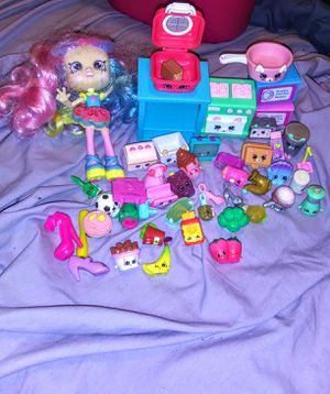 Shopkins Collection with Doll for Sale in Oklahoma City, OK