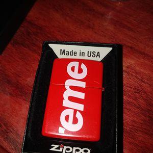 Supreme Zippo Lighter for Sale in Carpentersville, IL