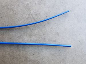 Bike Cable Housing, 5mm Brake 4mm Shift, Blue for Sale in Chula Vista, CA