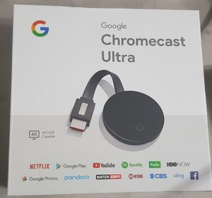 Google Chromecast Ultra Media Streamer for Sale in Los Angeles, CA