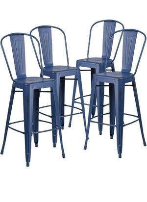 "Brand new 30"" metal bar stools set of 4 for Sale in West Valley City, UT"