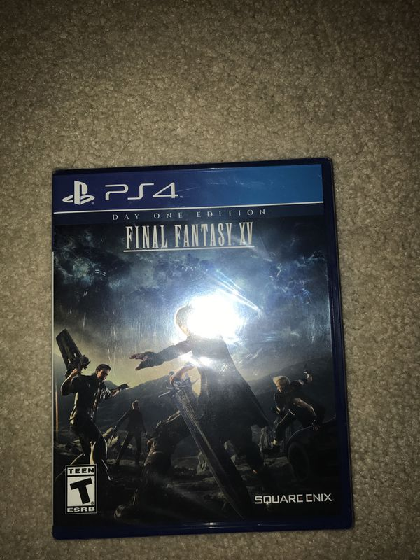 PS4 UNOPENED GAMES (FALLOUT 4,, FINAL FANTASY XV)
