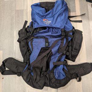 Lowe Alpine Contour 90+15 Liter Large Internal Frame Backpack Blue And Black for Sale in Alexandria, VA