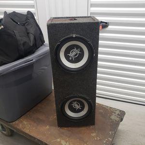 "Box for 2- 8"" speakers for Sale in Moonachie, NJ"
