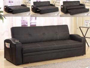 Easton Futon Sofa Bed for Sale in Houston, TX