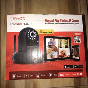 Foscam HD Vision wireless IP camera for Sale in Charles Town, WV