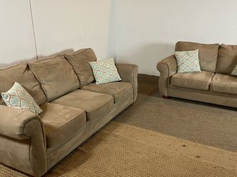 Bauhaus Beige Couch Set FREE DELIVERY for Sale in Philadelphia,  PA