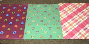 3 girls folders for Sale in Westwego, LA