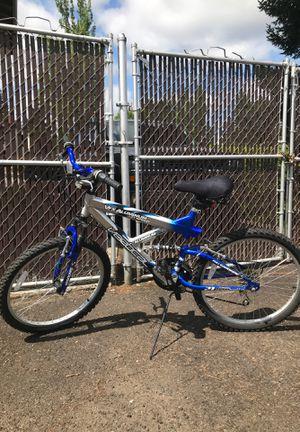 """24"""" aluminum frame men's / boys/unisex 21 speed bike. Full suspension mountain bike for Sale in Gresham, OR"""