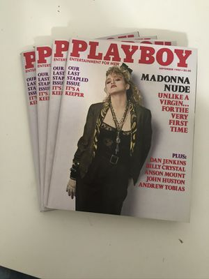Cases of Playboy magazine many mint condition for Sale in Kent, WA