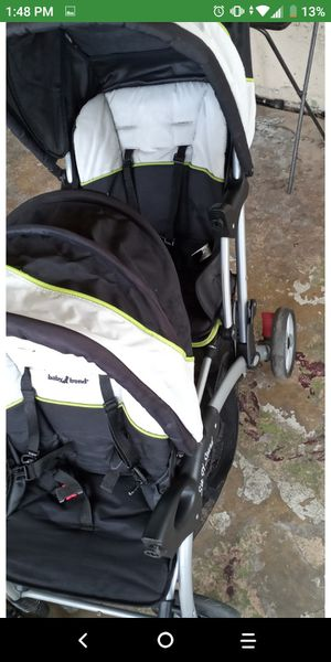 $40 need gone asap double stroller but missing trays but great condition for Sale in San Antonio, TX