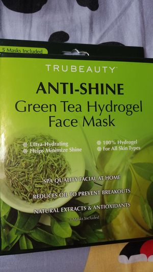 ANTI-AGING GREEN TEA HYDROGEL FACE MASK for Sale in Brooklyn, NY