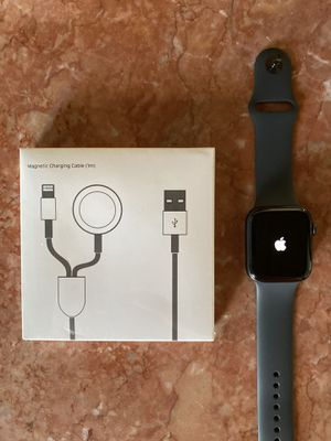 Brand New Apple Watch Series 5 44 MM GPS Only in Space Gray for Sale in Upland, CA