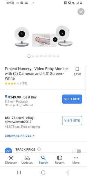 Project nursery model numberPMN411 for Sale in Metropolis, IL