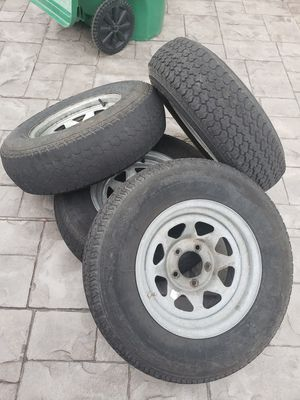 Trailer wheels and tires for Sale in Miami, FL