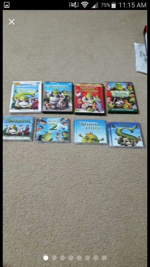 The Comple Shrek CD & DVD Collection for Sale in Dunnellon, FL