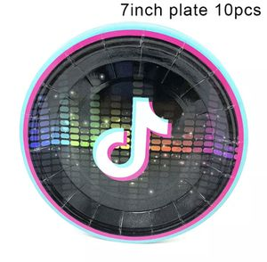 "Tik Tok plates 7"" (10 pack) for Sale in Waterbury, CT"