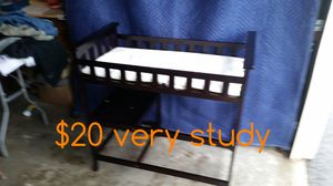 Baby changing table for Sale in Round Lake Park, IL