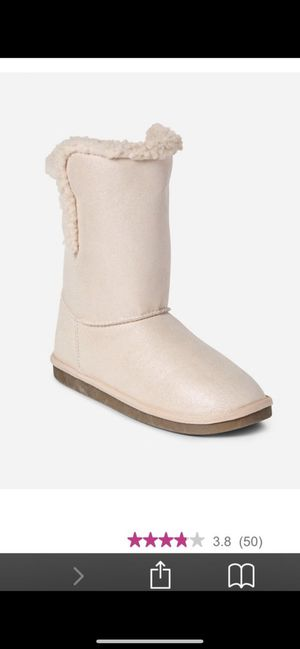 Justice girl boots size 2,2,4,5 for Sale in Palmdale, CA