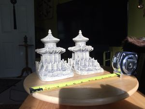 Chinese Pagoda Bookends for Sale for sale  Medford, MA