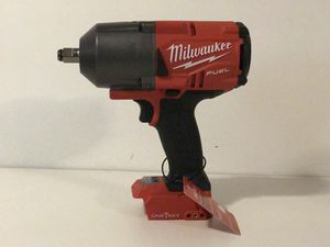MILWAUKEE M18 FUEL ONE KEY CORDLESS 1/2in IMPACT WRENCH HIGH TORQUE 1,400FT LB NO BATTERY OR CHARGER INCLUDED TOOL ONLY SOLO LA HERRAMIENTA for Sale in San Bernardino, CA