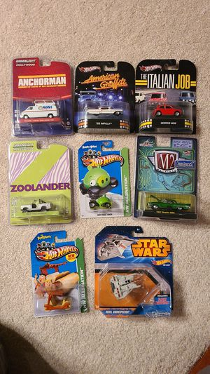 Hot Wheels Movie cars / Green Light/ M2 / for Sale in Beaverton, OR