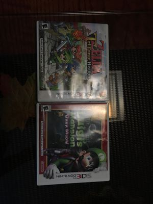 3ds games zelda, luigi mansion for Sale in Anaheim, CA