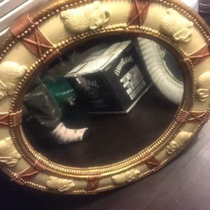 BEAUTIFUL Hand carved Elephant Mirror ! for Sale in Fort Lauderdale, FL