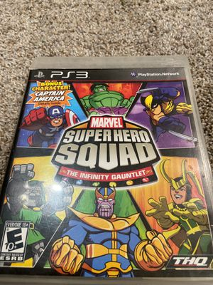 Marvel Ps3 for Sale in Greenbrae, CA