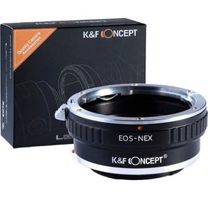 NEW K&F Concept Canon EOS to Sony lens adapter video - photography - students - camera - Mirrorless for Sale in Baldwin Park, CA