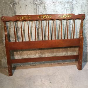 Full Sized Hitchcock Headboard for Sale in Concord, MA