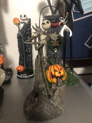 Nightmare Before Christmas Jack and Zero Statue figurine Disney for Sale in Las Vegas, NV