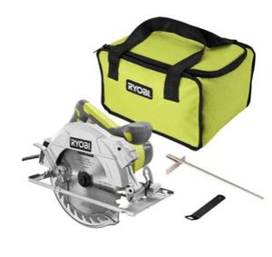 14 Amp Corded 7-1/4 in. Circular Saw with EXACTLINE Laser Alignment System, 24T Carbide Tipped Blade, Edge Guide and Bag for Sale in Chandler, AZ