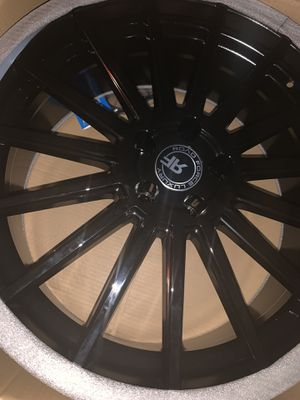 Black 22inch rims for Sale in Massapequa Park, NY