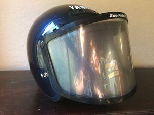 Vintage Yamaha Snowmobile Helmet w/ Visor, size XXL for Sale in Seattle, WA