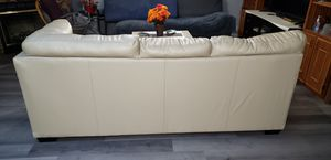 Leather couch for Sale in Irving, TX