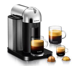 Nespresso Vertuo Chrome Coffee Maker for Sale in Clovis, CA