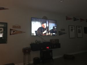 """65"""" Sharp Aquos TV with wall mount bracket for Sale in Lynch Station, VA"""