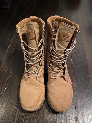Under Armour Military Boots, Coyote Brown, Army / Air Force, Men's 13 for Sale in Millersville, MD