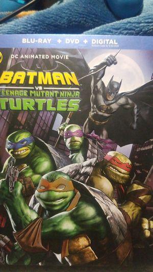 Batman vs teenage mutant ninja turtles for Sale in Los Angeles, CA