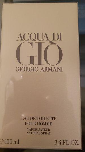 Acqua di gio Giorgio Armani 3.4 for Sale in Covina, CA