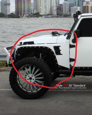 Xrc painted body armor smittybilt for Jeep Wrangler jk for Sale in Davie, FL