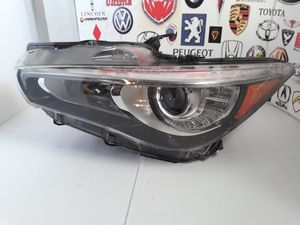2014 2019 INFINITI Q50 LEFT DRIVERS FULL LED HEADLIGHT WITHOUT AFS. OEM FOR PARTS for Sale in Lawndale, CA