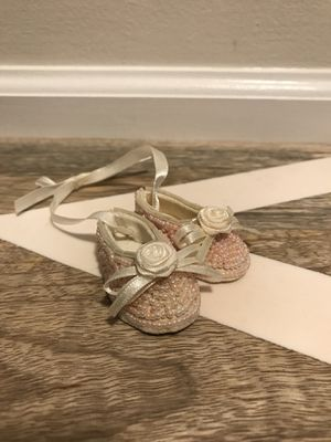 Small beaded hanging ballet slippers for Sale in Nottingham, MD