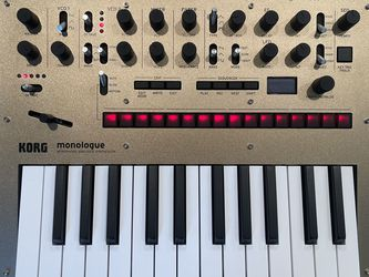 Korg Monologue Analog Synthesizer GOLD for Sale in Clovis,  CA