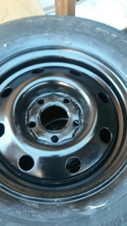 "2 trailer wheels and tires 5x4.5...14"".. for Sale in Palmdale,  CA"