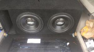 Audio legion s2512s 2 ohm suns for Sale in Jacksonville, FL