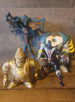 Mcfarlane Toys figures... Ninja Spawn, Gold Clown etc. for Sale in Davis, CA