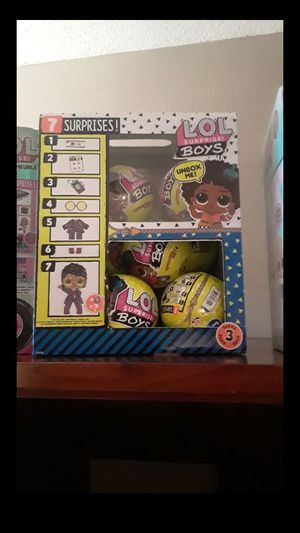 Lol suprise doll boys series 3 full box for Sale in Citrus Heights, CA
