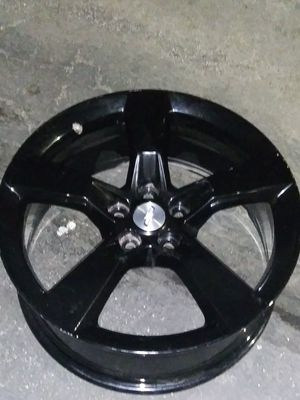 Black Chevy rims 20 inch Camaro super sport for Sale in San Bernardino, CA